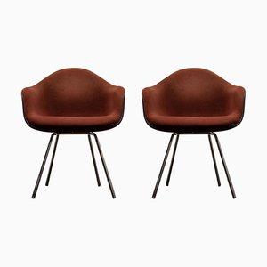 Sillones de Charles & Ray Eames para Herman Miller, años 70. Juego de 2