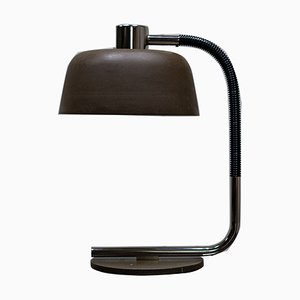 Green Metal Table Lamp, 1960s
