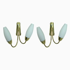 Sconces by Rupert Nikoll for Rupert Nikoll, 1950s, Set of 2