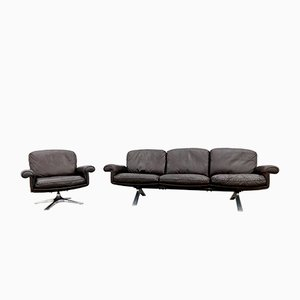 DS 31 Armchair & Sofa from de Sede, 1970s, Set of 2