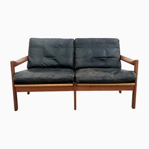 Dänisches Sofa von Illum Wikkelsø für Niels Eilersen, 1960er