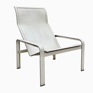 Italian Lounge Chair by Jacques Toussaint & Patrizia Angeloni for Matteo Grassi, 1980s
