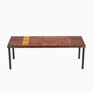 Fliesentisch von inconnu für inconnu, 1950er