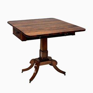 Mesa auxiliar antigua de palisandro