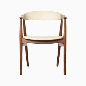 Chaise de Salon 213 par TH Harlev pour Farstrup Møbler, années 50