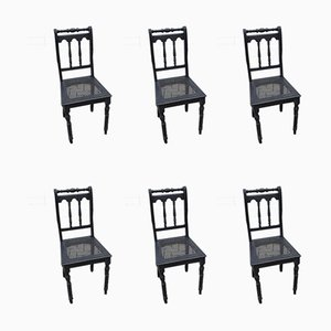 Mid-Century Dining Chairs, Set of 6