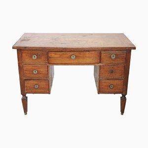 Antiker italienischer Schreibtisch aus Nussholz