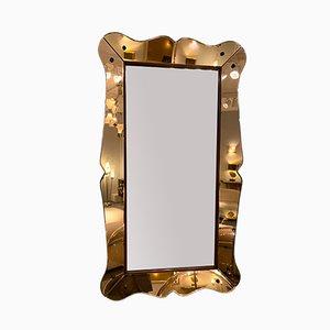 Italienischer Spiegel von Cristal Art, 1960er