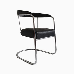Chrome Side Chair from PEL, 1930s