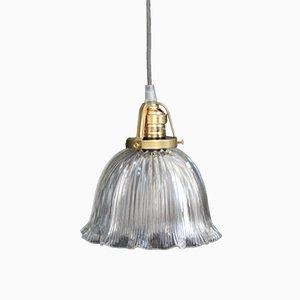Vintage Deckenlampe aus Glas