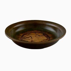 Scodella vintage in bronzo di Just Andersen