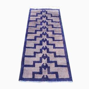 Handgewebter türkischer Teppich aus Angorawolle, 1970er