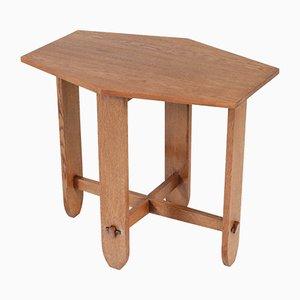 Art Deco Oak Coffee Table, 1920s