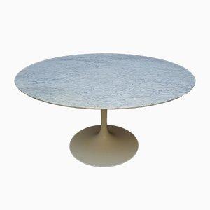 Esstisch mit Marmorplatte von Eero Saarinen für Knoll Inc. / Knoll International, 1979