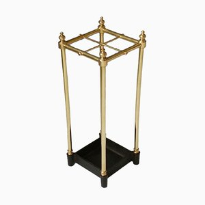 Brass and Cast Iron Umbrella Stand, 1970s