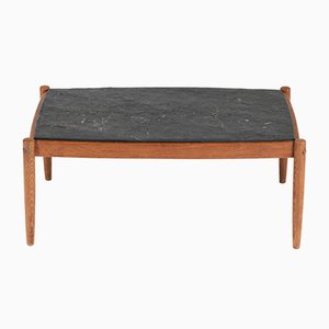 Mid-Century Modern Oak Coffee Table, 1960s