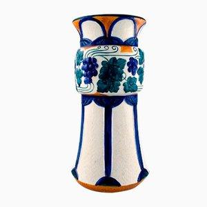 Vase im Jugendstil von Alf Wallander für Rörstrand