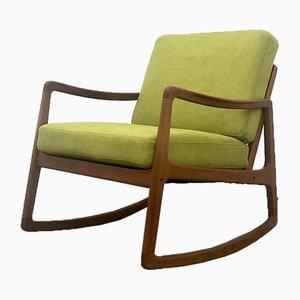 Rocking-chair par Ole Wanscher pour France & Søn / France & Daverkosen, années 60