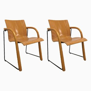 Vintage Lounge Chairs by Michael Thonet, Set of 2