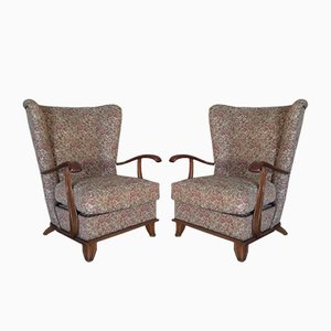 Armchairs by Paolo Buffa, 1940s, Set of 2