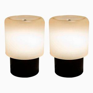 KD32 oder TicTac Tischlampen von Giotto Stoppino für Kartell, 1970er, 2er Set