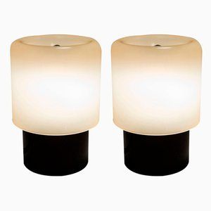 KD32 or TicTac Table Lamps by Giotto Stoppino for Kartell, 1970s, Set of 2