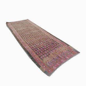 Turkish Pink Kilim Rug, 1970s