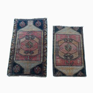 Handmade Oushak Rugs, 1970s, Set of 2