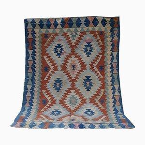 Turkish Hand Woven Kilim Rug, 1970s