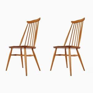 Beistellstühle von Lucian Ercolani für Ercol, 1960er, 2er Set