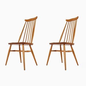 Side Chairs by Lucian Ercolani for Ercol, 1960s, Set of 2