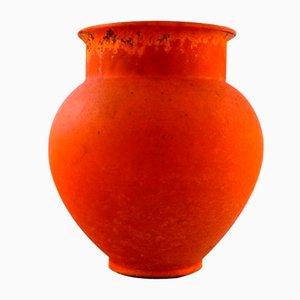 Glazed Stoneware Vase by Svend Hammershøi for Kähler, 1940s
