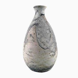Vaso in gres smaltato di Svend Hammershøi per Kähler, anni '30