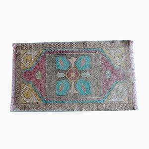Türkischer Oushak Teppich mit geometrischem Muster, 1970er