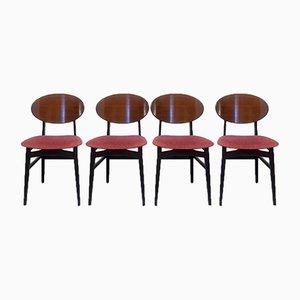Esszimmerstühle von Beautillty, 1950er, 4er Set