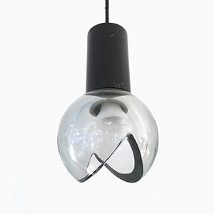 Deckenlampe von Flavio Poli für Seguso, 1960er