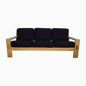 Finnisches 3-Sitzer Sofa mti Gestell aus Eiche von Esko Pajamies für Asko, 1960er