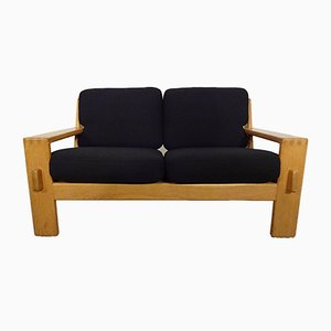 Finnish Oak 2-Seater Sofa by Esko Pajamies for Asko, 1960s