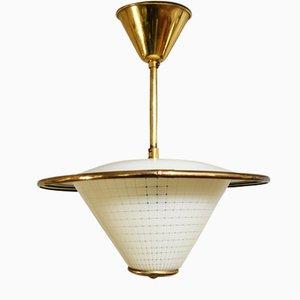 Lampe à Suspension Scandinave de RTH Lighting, années 50