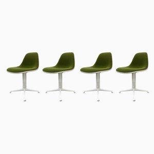 La Fonda Esszimmerstühle von Charles & Ray Eames für Herman Miller, 1960er, 4er Set