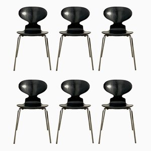 Ant Dining Chairs by Arne Jacobsen for Fritz Hansen, 1980s, Set of 6
