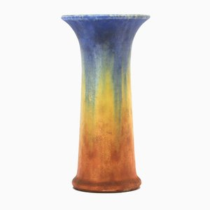 Glazed Lily Vase from Ruskin Pottery, 1932