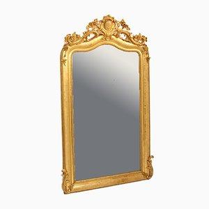 Miroir Mural Antique Doré