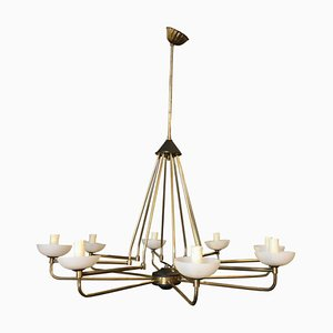 Italian Modern Chandelier from Stilnovo, 1950s