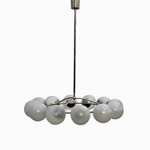 Grande Lampe à Suspension Vintage, 1970s