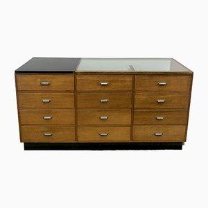 Vintage Oak Cabinet, 1950s