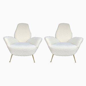 Italienische Sessel von ISA Bergamo, 1960er, 2er Set