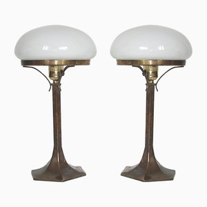 Table Lamps, 1920s, Set of 2