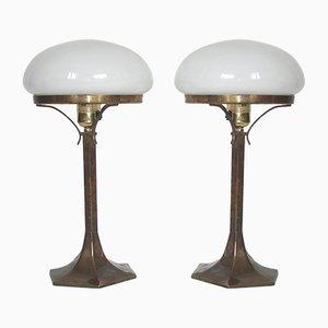 Tischlampen, 1920er, 2er Set