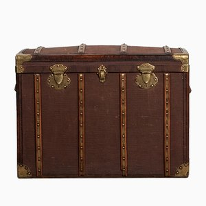 Antique French Traveling Trunk from O. Jassaud